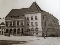 Pohled na radnici ve Zlíně v roce 1931