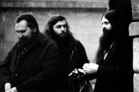 With Egon Bondy and Jaroslav Kukal