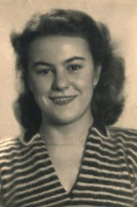 Portrait of his mother, 1948