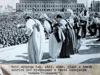1948 - vystoupení souboru v Severní Koreji