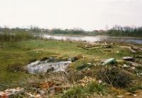Minové pole u řeky Sávy