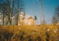 Zničený kostel v Bosanske Krupe