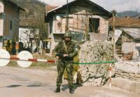 Na stráži v Bosanske Krupe