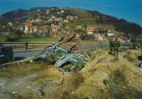 Pád českého vrtulníku