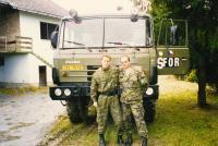 S Alexandrem Golubovičem z pyrotechnické jednotky