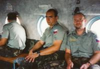 Let vrtulníkem - konec mise