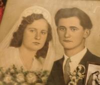 Svatební fotografie Ludmily a Miroslava Kotlabových