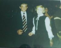 Vlevo manžel Miroslav Kotlaba