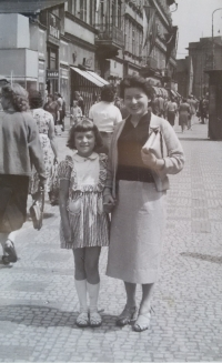 Olga with her daughter