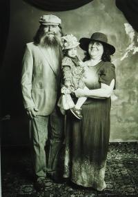 Václav Hurt and his wife Ursula