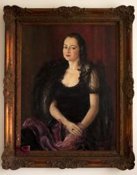 Portrait of Eliška Hamšíková (Hartmannová)