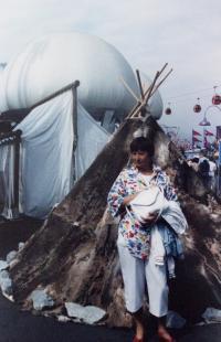 Dagmar Hamšíková / EXPO 1986, Vancouver