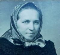 Matka Ludmila Holáňová