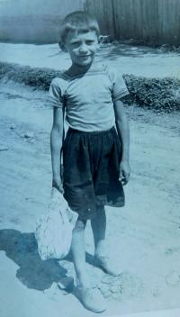 Stanislav Holáň v dětství
