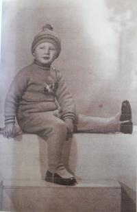Pan Morávek za mlada