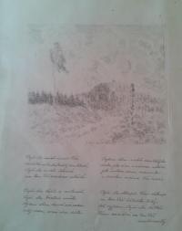 báseň od vězňů pracovního lágru Vojna u Příbrami