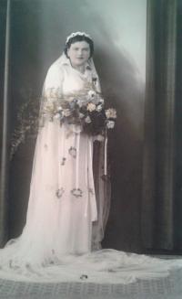 svatební fotografie maminky