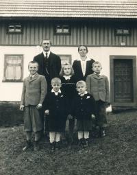 Rodina v průběhu války
