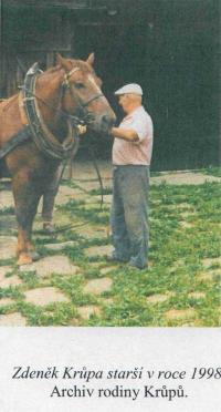 Zdeněk Krůpa s koněm