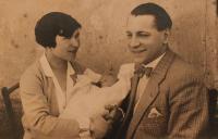 parents with little Vlasta