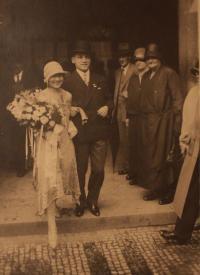 wedding of parents