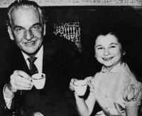 with R.A. Dvorsky - 1956