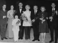 Vlasta Janoušková 1970s - on performances with actors