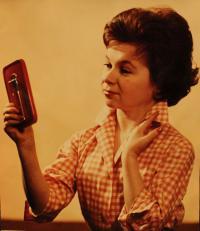 Vlasta Janoušková - young - 1960s