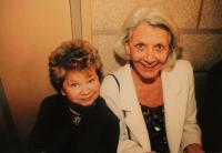 with Heda Čechová - 1999