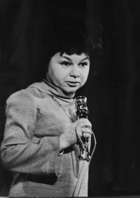 Vlasta Janoušková - performance