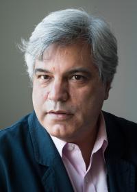 Álvaro Alba durante la grabación en Miami, 2018