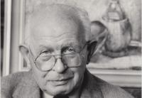 strýc, akademický malíř Theodor Pchálek