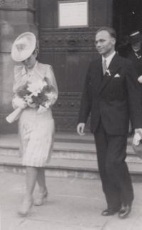 svatba rodičů 1940