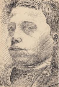 self-portrait of his father in his 15 years
