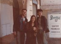 1983, Jan Rampich, friend, Peter Hošek