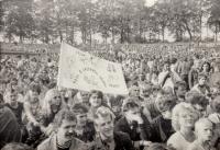 Mírový koncert, 1987, Plzeň