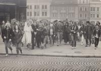 Svatba 1985, Plzeň a