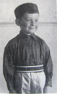 Dětství Jiří Janisch, sokol