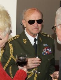 generál Sedláček na vernisáži výstavy - únor 2008