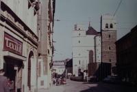 Kostel sv. Mořice v Olomouci, kde pamětník Josef Jančář měl své první kněžské působiště jako druhý kaplan.