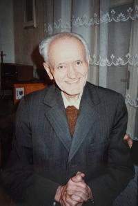 Páter Mětoděj František Minařík.