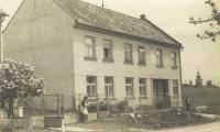 rodný dům pamětníka v Tršicích