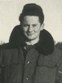 pamětník Rostislav Čapek - dobová fotografie
