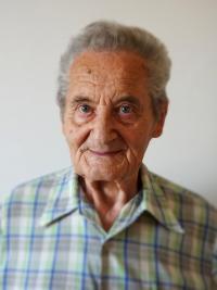 pamětník Rostislav Čapek - současná fotografie