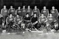 Slovan Bratislava hockej team, c. 1959