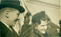 Svatební den rodičů Jana Klose - Běly Štípkové a Josefa Klose, únor 1940