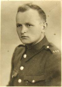 Václav Fiala v roce 1945