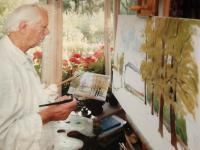 malování v přírodě, 1990