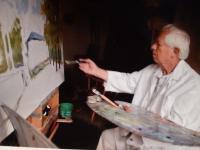 Stanislav Bělík a malování