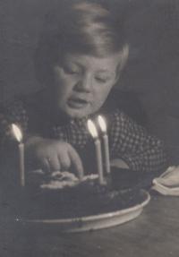 Birthday of his son Richard